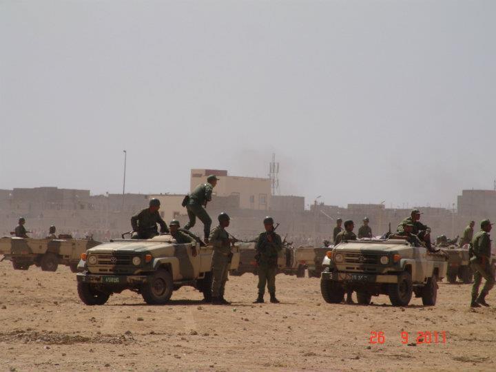 mili marroqui en dajla